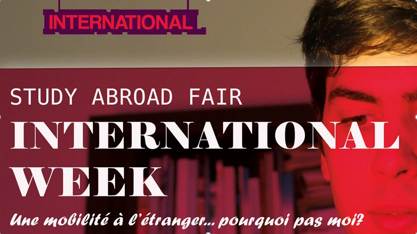 INTERNATIONAL WEEK : mardi 16 octobre à l'IUT